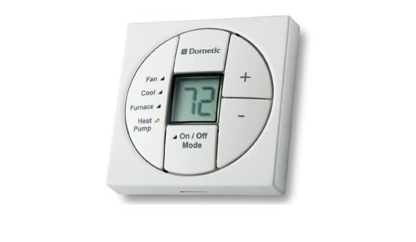 Heat Only Black New Dometic RV Thermostat
