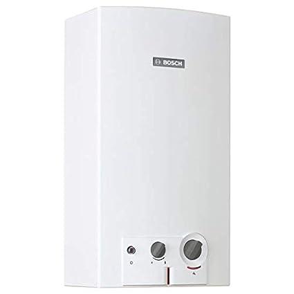 Calentador de agua bosch manual