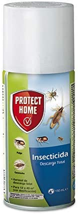 Protect Home - Insecticida Descarga Total, automático, antiguo Solfac, 150ml (1 unidad)
