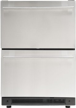 Haier DD410RS Refrigerator Capacity Stainless
