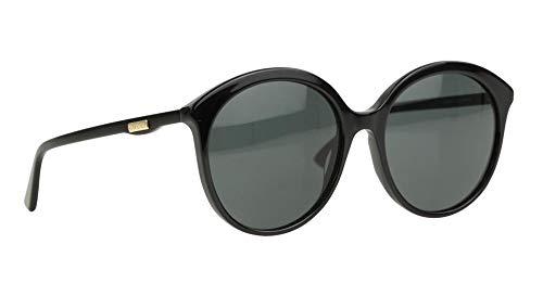 Gucci GG0257S gafas de sol w/gris lente 59mm 001 GG0257 / S ...