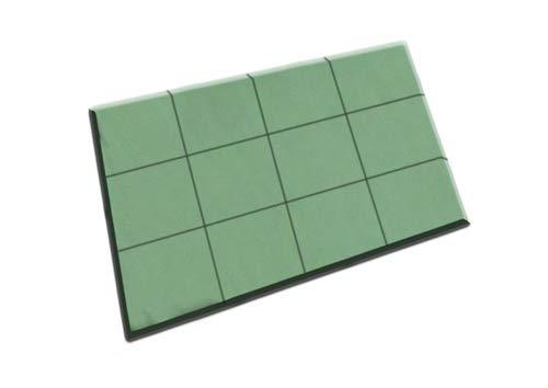 11-03251 Oasis Floral Foam Tile 24'' x 18'' x 1-1/2'' (Box of 4)