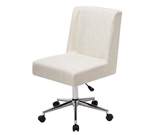 - Pоrthоs Hоmе CRM, Designer Office Chairs with Wheels Colors Grey Cream and Blue 34-38 x 20 x 24 Inch, One Size