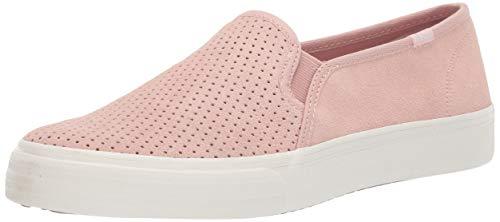 (Keds Women's Double Decker Suede Sneaker, Light Pink, 10)