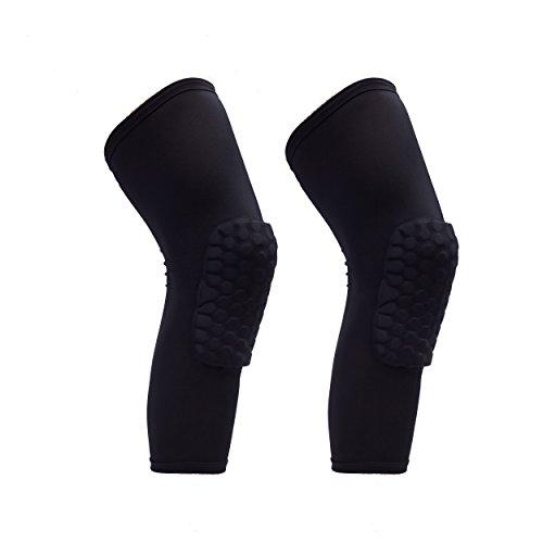 comb Knee Pads Leg Knee Sleeve Protective Pad Support Guard Hexpad, 1 Pair/2 Piece (Knee Length Baseball Pants)