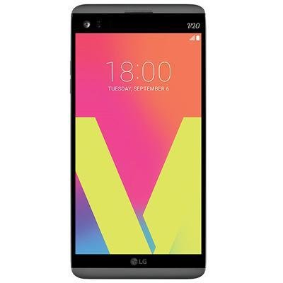 LG V20 H910a 64GB 5.7'' IPS LCD Display Android Smartphone w/ Dual Rear Cameras (16MP+8MP) - Carrier Unlocked for all GSM Carriers Worldwide (Titan Gray) by LG