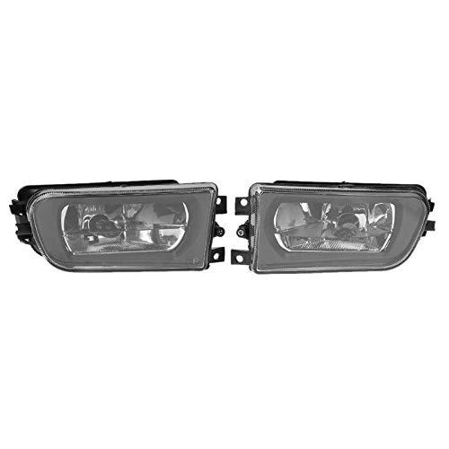 02 Fog Lamp Auto Car - Gavita-Star - 1 Pair Car Fog Light Lamp Automobiles Clear Glass Lens Front Headlight Headlamp for BMW E39 5-Series 95-02 Auto Accessories