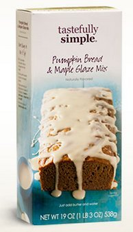 Tastefully Simple - Pumpkin Bread & Maple Glaze Mix. Buy 3 & get 1 Free Almond Pound Cake Mix! The Taste Simply can't be - Cake Pound Almond
