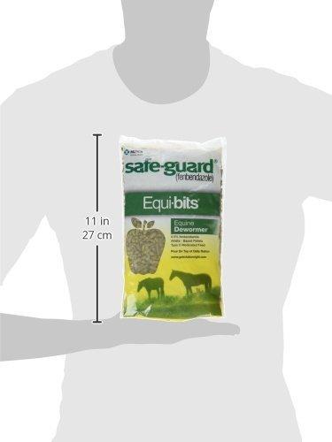 (4 Pack) Intervet Safeguard Dewormer Pellets for Horses, 1.25-Pound each by Intervet (Image #2)
