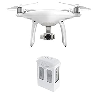 DJI Phantom 4 Quadcopter Camera (White) with Extra Battery Bundle (B01HM1YV3G) | Amazon price tracker / tracking, Amazon price history charts, Amazon price watches, Amazon price drop alerts