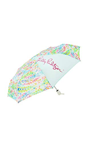 Lilly Pulitzer Travel Umbrella Catch the Wave