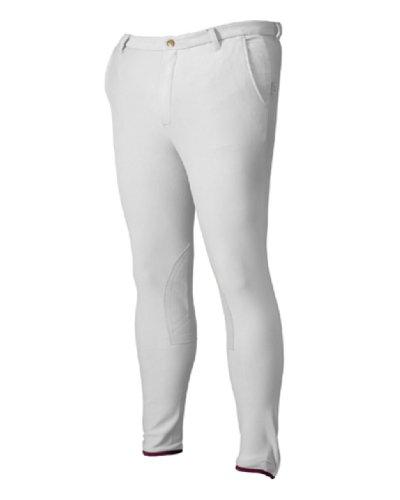 DEVON-AIRE Mens Cool Cotton Breeches, Dove Grey, 38 ()