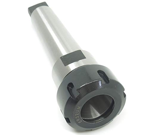MT4 ER32 Morse Spindle Taper Flat tail shank collet chuck tool MTA4 ER32UM For Milling Machine CNC Lathe ()
