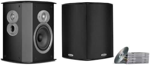Polk Audio FXI A4 Surround Speakers (Pair, Black)