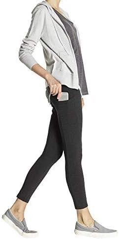 No Nonsense Women's Cotton Lounge Legging with Pocket