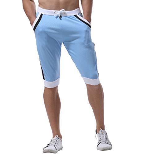 Longueur Confortable Hommes longueur Vêtements Multicolore Vecdy Élégant En  Décontractés Pantalons Et Orange Patchwork D été ... 4ce942ccd940