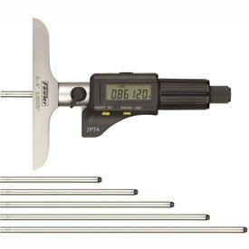 Fowler 54-225-456 IP54 0-6''/150MM Electronic Depth Micrometer