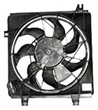 TYC 610670 Kia Replacement Condenser Cooling Fan Assembly