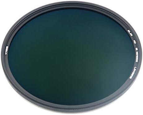GREEN.L 77mm ND1000 スリム MRC 16層ニュートラルデンシティー NDフィルター 10ストップ ND1000 77mm