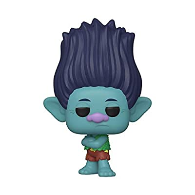 Funko Pop! Movies: Trolls World Tour - Branch (Styles May Vary): Toys & Games