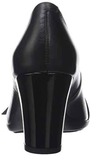 Annya Bout Spuntato Geox Black Noir Ouvert Escarpins C Femme dwfUSHUqIn