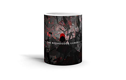 Ceramic Coffee Mug Gamer Video Game Cup The Redhooded Gamer Youtube Channel Art Gaming Computer Drinkware Super White Mugs Family Gift Cups 11oz 325ml