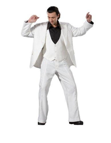 Saturday Night Costumes - Men's Saturday Night Fever Disco Costume,