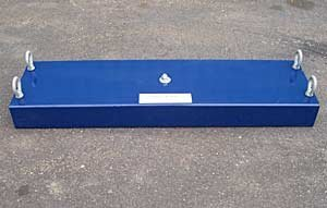 Industrial Conveyor Magnet 18 Inches Wide by AMK