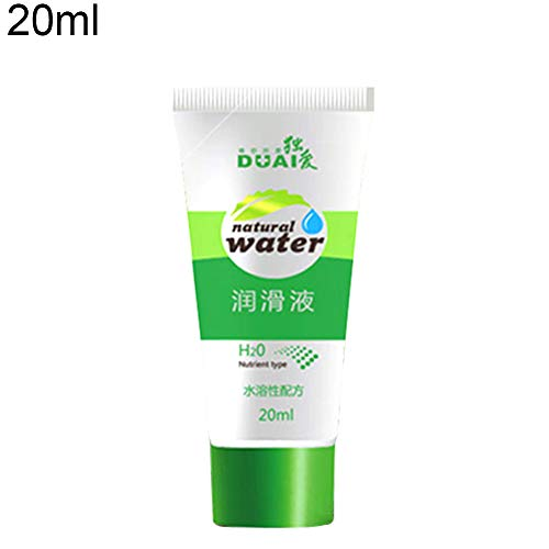 dezirZJjx Lubricant,20/60ml Female Water Based Sex Lubricant Silk Touch Vagina Anal Lubricating Oil 20ml ()