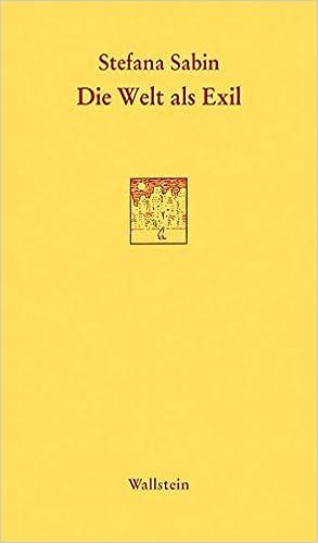 Die Welt als Exil (Göttinger Sudelblätter):