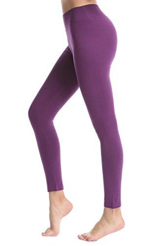 ABUSA Women's Yoga Leggings Power Flex Tummy Control