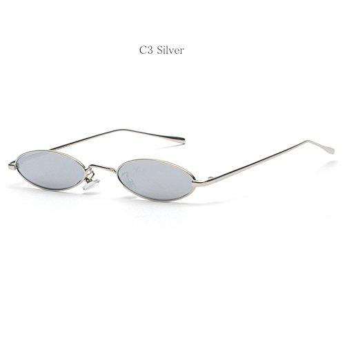 4dd7b5b468 Gafas de sol ovaladas para mujer, diseño de gato con diseño de retro, color