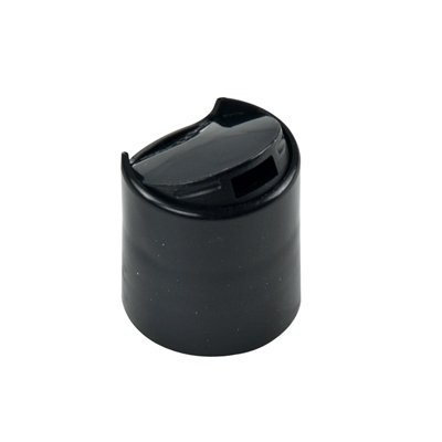 24mm Black Disc Dispensing Cap for 24mm by 410 Thread Mouth Bottles (84 Caps) by Verified Exchange