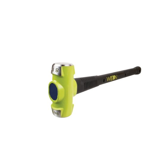 Wilton 40824 8 lb. BASH Soft Face Sledge Hammer with 24-in Unbreakable Handle (Unbreakable Handle)