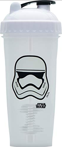 Performa Shaker - Star Wars Original Series Collection, Best Leak Free Bottle with Actionrod Mixing Technology for Your Sports & Fitness Needs! Dishwasher and Shatter Proof (Stormtrooper)(28oz)