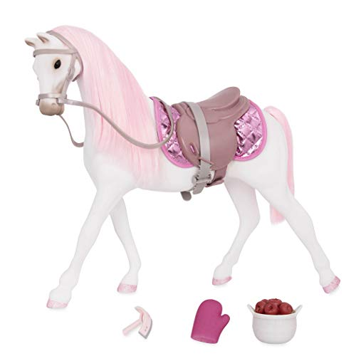 Glitter Girls by Battat - Shimmers 14-inch Norwegian Horse - 14 inch Doll Accessories and Clothes for Girls Age 3 and Up - Children's Toys