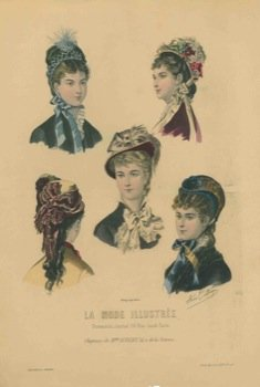 La mode illustre. Chapeaux. for sale  Delivered anywhere in USA