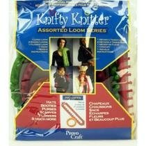 Knifty Knitter 210314 Assorted Loom Series with Slim Jim ()