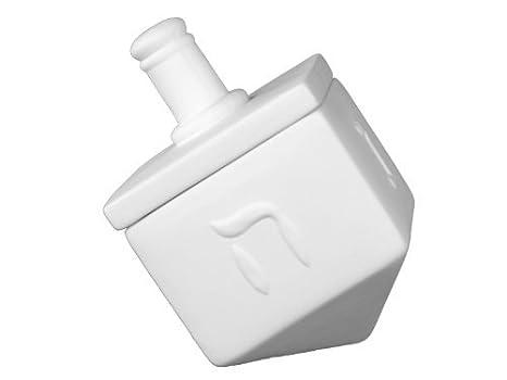 Dreidel caja - Pintura su propio recuerdo de cerámica: Amazon.es ...