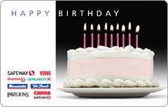 Amazon Safeway Happy Birthday Gift Card 50 Health Personal Care