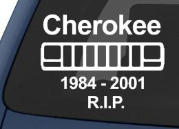 Jeep-Cherokee-1984-2001-RIP-Decal-Sticker-White-7-x-5-0115