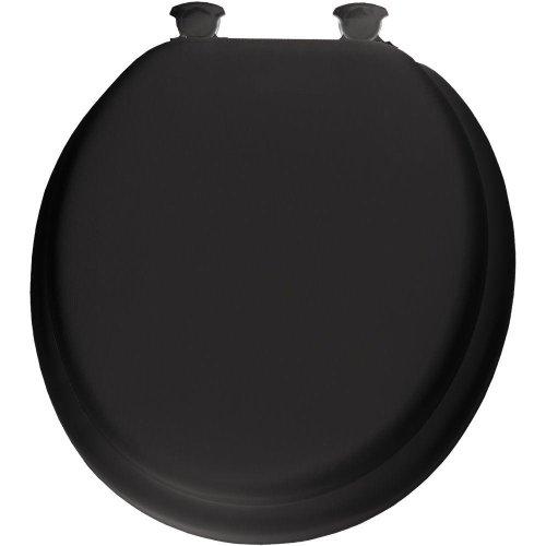 Mayfair Round Toilet Seat Premium, Series 13 Black ()