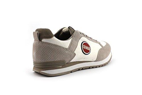 Sneaker Colmar TRAVIS WHITE/GRAY - Size:44
