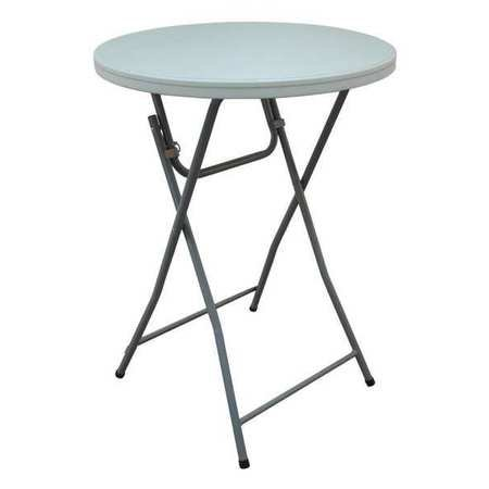 Round Folding Cocktail Table, 32