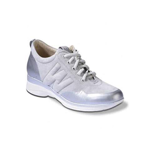 Marina Pelle acciaio Sneaker Melluso Techno Argento Donna R20305 In Scarpe Walk qqXwva