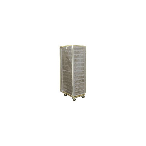 Curtron Products SUPRO-BM-7-W Protecto White Mesh Rack Cover by Curtron
