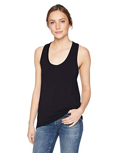 (Amazon Brand - Daily Ritual Women's Jersey Racerback Tank Top, Navy,)