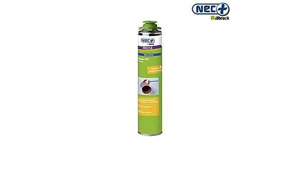 Nec+ MX310 - Espuma de poliuretano, para uso con pistola: Amazon.es: Bricolaje y herramientas