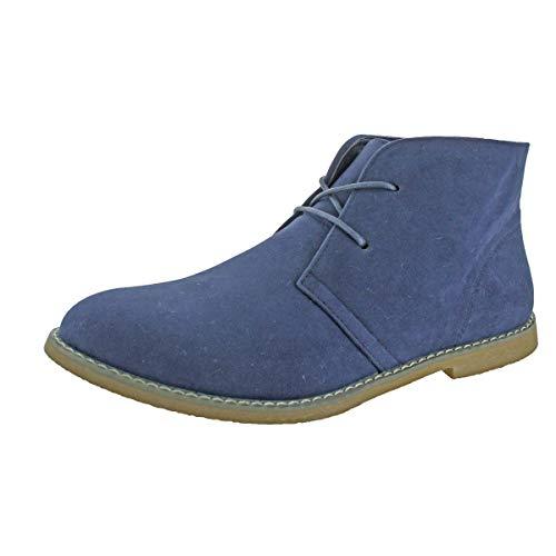 Revenant Men's Ankle Desert Chukka Boots Navy Size 9