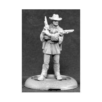 Amazon.com: Reaper Miniatures: Cowboys & Gunslingers: Toys ...